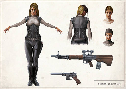 Reliquary - German Operative by anderpeich