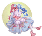 Commish: The littlest princess by Decora-Chan