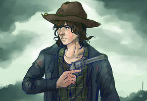 4/50 Carl - The Walking Dead by Decora-Chan