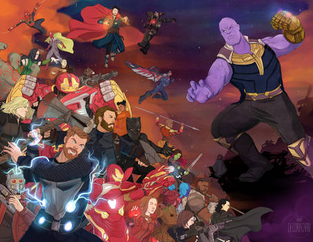 Avengers: Infinity War by Decora-Chan