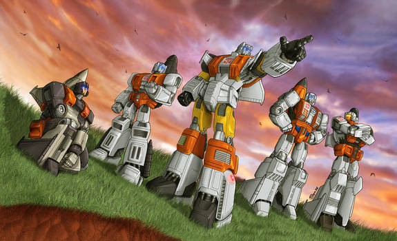 The Aerialbots by fargnay
