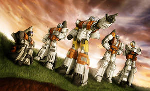 Aerialbots color tricks by fargnay