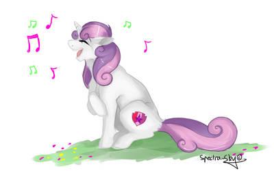 Sweetie Belle by Spectrail