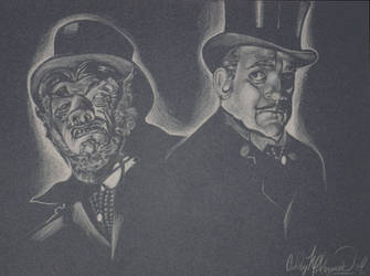 Dr. Jekyll and Mr. Hyde by SketchbookFlavor