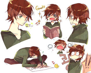 HTTYD - Hiccup_age:7 by motott