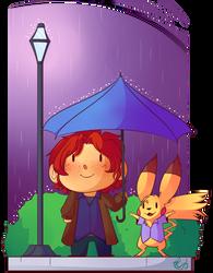 Rain Rain  by Riboo