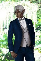 Modern AU groom Fenris by Shizuru117