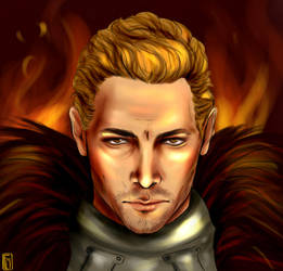Cullen Rutherford - (study on shadows and lights) by Shizuru117