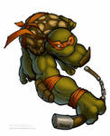 Michelangelo by microUgly