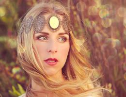 Freyja, goddess of love and war (me modelling) by gestiefeltekatze