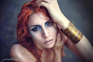Mermaid Portrait by gestiefeltekatze