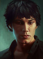 Bellamy: The 100 by OffbeatWorlds