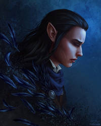 Vax'ildan: Champion of the Raven Queen by OffbeatWorlds