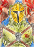 Mandalore the First Sketchcard by TolZsolt