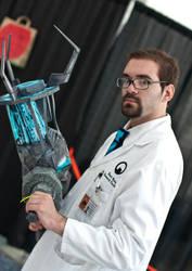 The Mute Scientist by biggestsonicfan