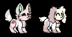 CLOSED :  Doggo Adopts 0/2 by Violeta-Adopts