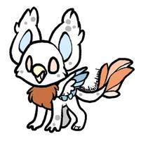 CLOSED : Chibi Griffin Adopt by Violeta-Adopts