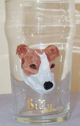 Jack Russell Pint - Commission by kaylalowes