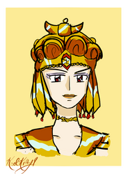 The Golden Queen Galaxia by koolkitty9