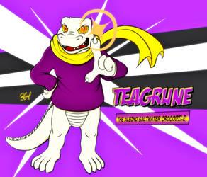 TEAGRUNE the Albino Saltwater Crocodile by Burn-Graphite