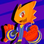 Blaze Kaiser - pixel art by Burn-Graphite