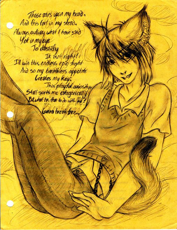 Kitten by yeaka