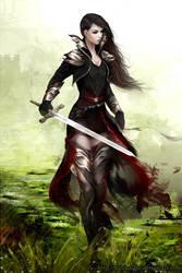Lady knight by milyKnight