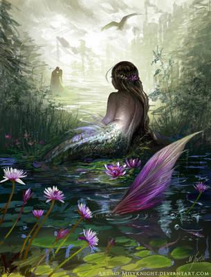 Little mermaid by milyKnight