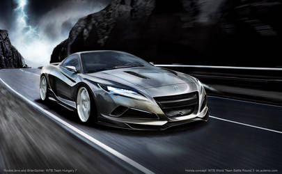 Honda Concept WTB TeamHungary7 by brianspilner