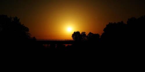 Werl Sunset 5 by skywalkerdesign