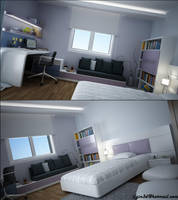 young room.. by akcalar