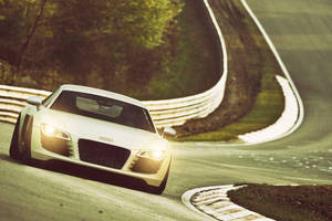 CGI Audi R8 at The Ring by sergoc58