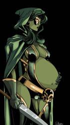 Gamora - Guardian of the Galaxy by SirWiggles