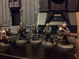 Death Korps of Krieg Command squad by tave32