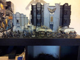 Death Korps of Krieg 500 pts army by tave32
