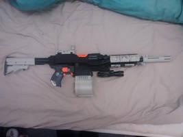 Nerf Stryfe M4 Mod by tave32