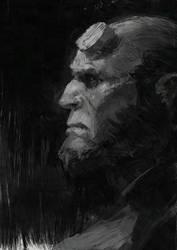 Hellboy by Algido