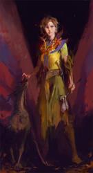Taming a Dragon by Algido