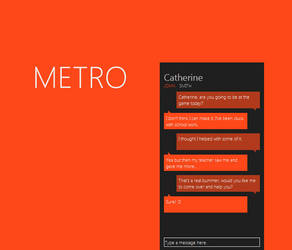 Metro Messenger by Grimmdev