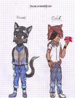 CDL characters - computer and technic by pklcha