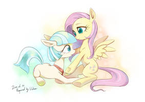 Streaming Request - Fluttershy and CoCo by GashibokA