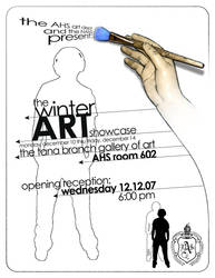 Art Show Poster by claycox