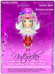 Nutcracker Poster Design by claycox