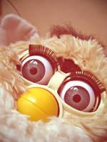 Staring Furby by lilski