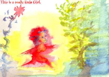 Little Girl Super Power by shiktang