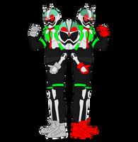 Kamen Rider Ex-Aid Partners Gamer LV XX by JoinedZero