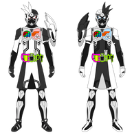 Kamen Rider Doc-X Mighty Gamer LV X by JoinedZero