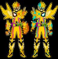Kamen Rider Ex-Aid Maximum Muteki Gamer LV XX by JoinedZero