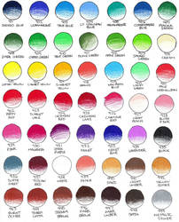 Prismacolor Color Chart 1 by peonyfantasy