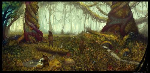 Antediluvian Woodlands by DanilLovesFood